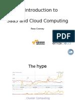 Saas and Cloud Computing