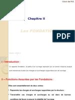 FONDATION PROFONDE