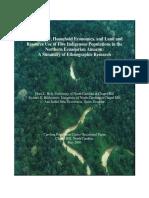 Northern Ecuadorian Amazon a Summary of Ethnographic Research