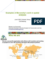 Aagw2010 June 09 Maarten Van Zonneveld Examples of Bioversity Work in Spatial Analyses Bioversityinternational