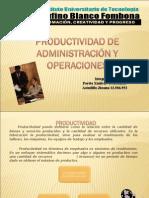 Productividad de Administracion