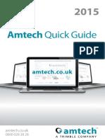 Amtech Quick Guide 2015
