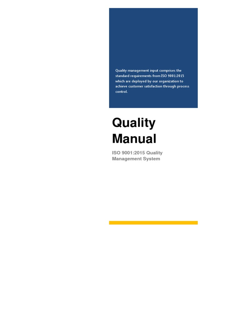 quality management pdf Project quality management process project quality management process template, version 10 (031312) iii 12 contact information date submitted: click here to enter a.
