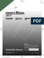 50L2300 User Manual