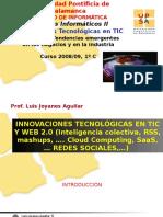 Impacto Innovaciones TIC Web2