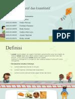 Analisa Kualitatif Dan Kuantitatif Lipid