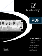 Tone Factory User Guide 1