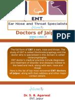List of Best ENT Doctors of Jaipur - Curecity