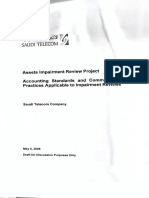 Asset Impairment Review Report