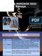 Bahaya Merokok Bagi Remaja