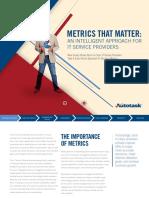 Autotask eBook Metrics That Matter
