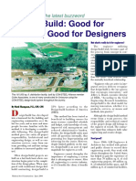 Design-Build Good for Owners, Good for Designers