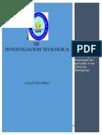 Manual de Investigación Sbl