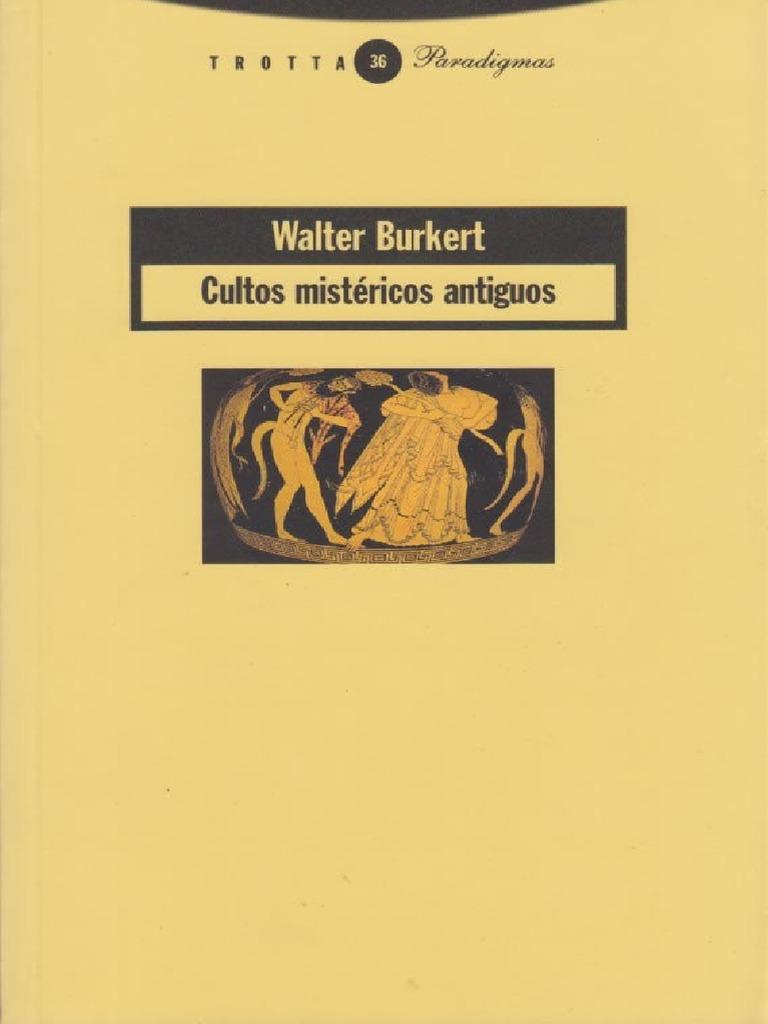 Cultos mistéricos antiguos - Burkert 16ef0930c72
