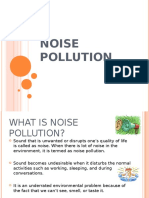 Noise Pollution ppt