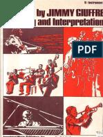Jimmy Giuffre - Jazz Phrasing and Interpretation