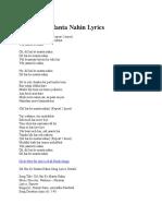 Dil Hai Ke Manta Nahin Lyrics