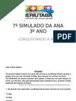 7º Simulado Da Ana