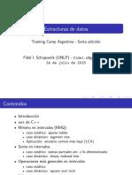 campamento de programacion dia 6 - Estructuras de Datos