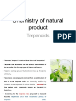 Chemistry of Natural Product