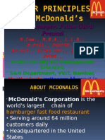 1. Mcdonald's Management Strategies ppt