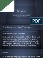 campamento de programacion dia 7 - Árboles