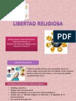 Resumen de Libertad Religiosa