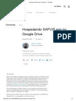 Hospedando SAPUI5 App No Google Drive