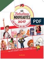 Les Fantastiques Nouveautés Dupuis 2017