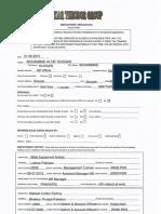Application Form Signed