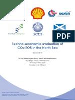 SCCS CO2 EOR JIP Techno Economic Evaluation