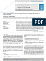 AnoteonthelearningautomatabasedalgorithmsforadaptiveparameterselectioninPSO10.1.1.373.2030