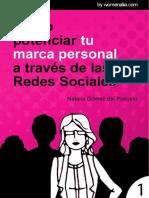 Cómo Potenciar Tu Marca Personal a Través de Las Redes Sociales, Natalia Gómez Del Pozuelo