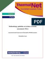 Thermalnet Methodology Guideline on Techno Economic Assessment