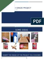 7th Grade Project