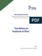 Guía Boliviana de Fiscalización de Obras