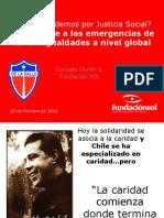 Chile frente a las emergencias de las desigualdades