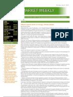 Carbon Market Weekly June 21 2010