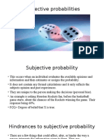 Activity 5 Subjetive Probability (1)