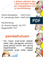 Tantangan dalam deteksi dan intervensi dari ketulian masa  kanak.pptx