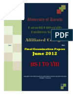 Bs-i to Viii Fep Jun 2012