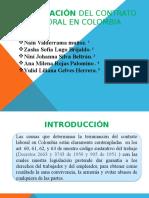 Causales de Terminación Del Contrato Laboral en Colombia