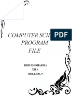 Class 12 Computer science(C++ and My SQL) Important Programs Part 3