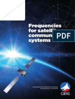 Frequencies for Satellite Communication Systems 2016