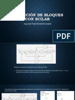 Reduccion de Bloques Con Scilab