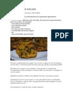 Tortillitas de Acelgas
