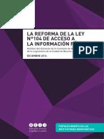 ACIJ - Análisis Del Dictamen de AIP Ciudad de Buenos Aires