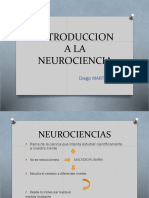 Introduccion a La Neurociencia. Diego Martinez 1