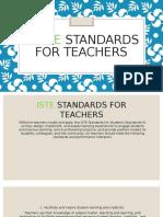 mia washington 5 iste standards for teachers