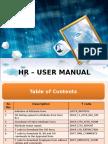Hr Manual for Ltfs